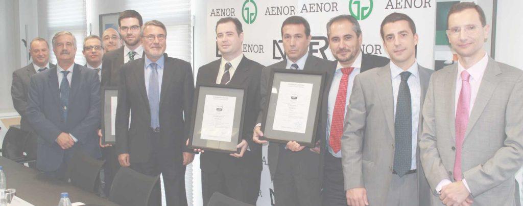 certificados de productos profesionales