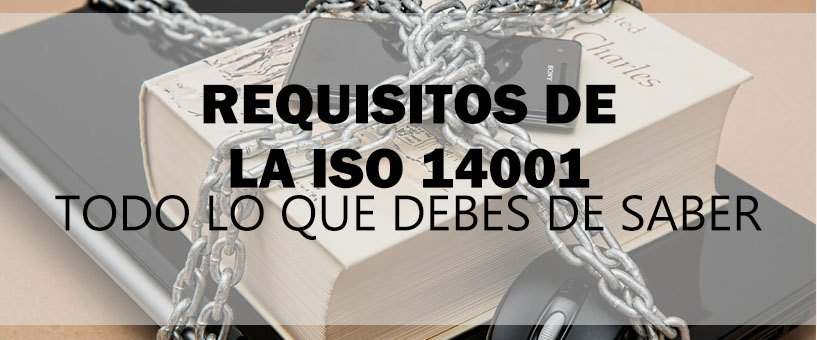 requisitos de la iso 14001