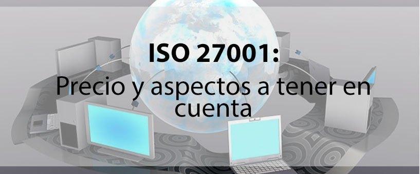 precio de ISO 27001